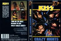 Cover KISS - Crazy Nights [DVD]